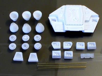 PARAGRAFIX メビウスモデル 1/55スケール 2001年宇宙の旅 ムーンバス用 スラスター&ロケットセット / PGX128