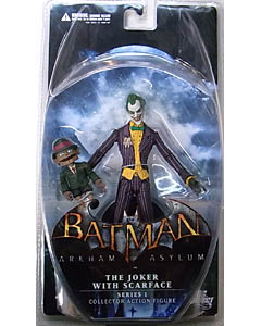 DC DIRECT BATMAN: ARKHAM ASYLUM SERIES 1 JOKER WITH SCARFACE