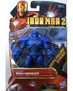 HASBRO 映画版 IRON MAN 2 3.75インチ COMIC SERIES CLASSIC IRON MONGER 台紙傷み特価