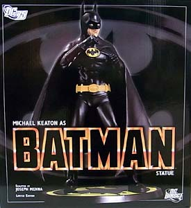DC DIRECT MICHAEL KEATON AS BATMAN STATUE