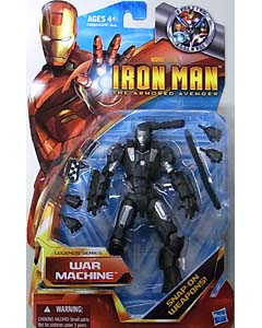 HASBRO IRON MAN THE ARMORED AVENGER 6インチ LEGENDS SERIES WAR MACHINE ブリスター傷み特価
