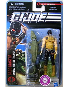HASBRO G.I.JOE THE PURSUIT OF COBRA シングル CROC MASTER [COBRA REPTILE TRAINER] NO.1117
