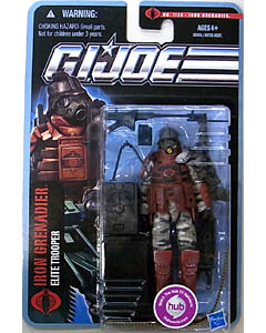 HASBRO G.I.JOE THE PURSUIT OF COBRA シングル IRON GRENADIER [ELITE TROOPER] NO.1120