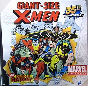 HASBRO MARVEL UNIVERSE GIANT-SIZE X-MEN 6PACK [VARIANT] パッケージ傷み特価
