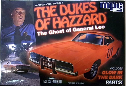 MPC 1/25スケール 爆発!デューク [THE GHOST OF GENERAL LEE] DODGE CHARGER 組み立て式プラモデル