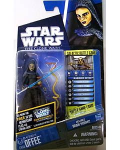 HASBRO STAR WARS THE CLONE WARS BASIC FIGURE BARRISS OFFEE