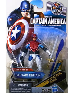 HASBRO 映画版 CAPTAIN AMERICA: THE FIRST AVENGER 3.75インチ COMIC SERIES CAPTAIN BRITAIN