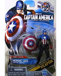 HASBRO 映画版 CAPTAIN AMERICA: THE FIRST AVENGER 3.75インチ COMIC SERIES HEROIC AGE CAPTAIN AMERICA