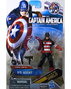 HASBRO 映画版 CAPTAIN AMERICA: THE FIRST AVENGER 3.75インチ COMIC SERIES US AGENT