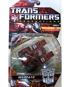 HASBRO TRANSFORMERS GENERATIONS DELUXE CLASS WARPATH