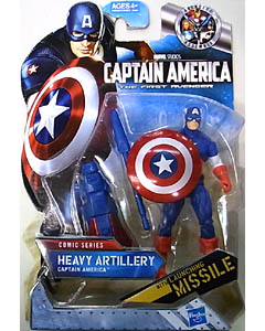 HASBRO 映画版 CAPTAIN AMERICA: THE FIRST AVENGER 3.75インチ COMIC SERIES HEAVY ARTILLERY CAPTAIN AMERICA