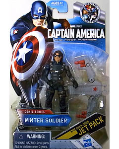 HASBRO 映画版 CAPTAIN AMERICA: THE FIRST AVENGER 3.75インチ COMIC SERIES WINTER SOLDIER