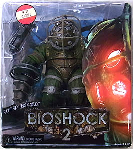 NECA PLAYER SELECT BIOSHOCK DX 7インチフィギュア BIG DADDY BOUNCER [LIGHT UP]