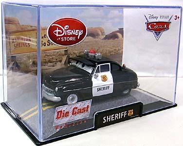 CARS USAディズニーストア限定 ダイキャストミニカー SHERIFF