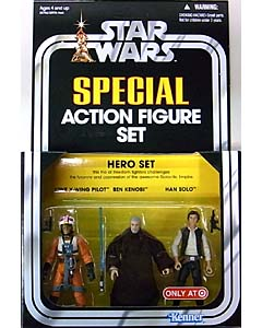 HASBRO STAR WARS USA TARGET限定 SPECIAL ACTION FIGURE SET HERO SET