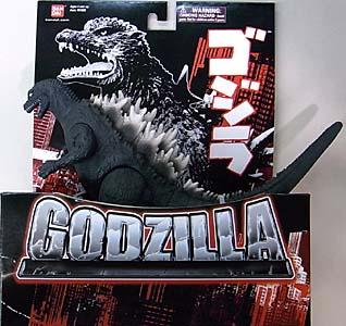 USA BANDAI 6.5インチ 怪獣ソフビ ゴジラ 2001