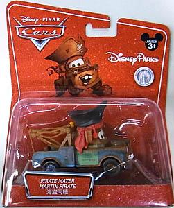MATTEL CARS2 USAディズニーテーマパーク限定 PIRATE MATER