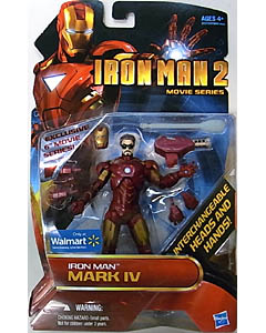 HASBRO 映画版 IRON MAN 2 USA WALMART限定 6インチ IRON MAN MARK IV [UNMASKED]