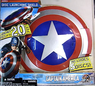 HASBRO 映画版 CAPTAIN AMERICA: THE FIRST AVENGER DISC LAUNCHING SHIELD
