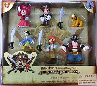 DISNEY USAディズニーテーマパーク限定 FIGURE SET PIRATES OF THE CARIBBEAN