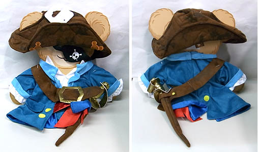 DISNEY USAディズニーテーマパーク限定 DUFFY THE DISNEY BEAR COSTUME [DUFFY THE DISNEY BEAR PIRATES COSTUME]