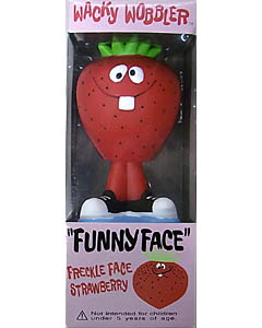 FUNKO WACKY WOBBLER FUNNYFACE FRECKLE FACE STRAWBERRY