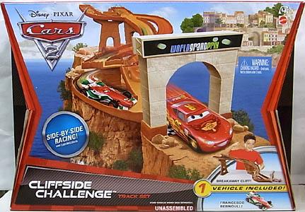 MATTEL CARS2 CLIFFSIDE CHALLENGE TRACK SET