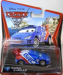 MATTEL CARS2 シングル RAOUL CAROULE