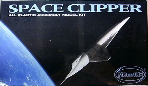 メビウスモデル 1/144スケール スペースクリッパー 組み立て式プラモデル