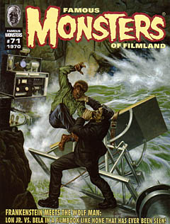 FAMOUS MONSTERS OF FILMLAND #71 / 1970