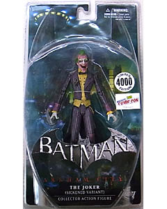 2011年ニューヨーク コミコン限定 DC DIRECT BATMAN: ARKHAM CITY THE JOKER [SICKENED VARIANT]