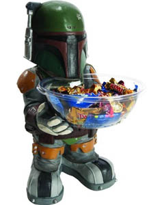 RUBIE'S STAR WARS BOBA FETT CANDY HOLDER