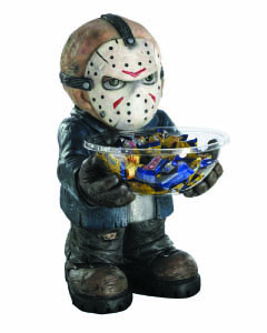 RUBIE'S FRIDAY THE 13TH JASON VOORHEES CANDY HOLDER
