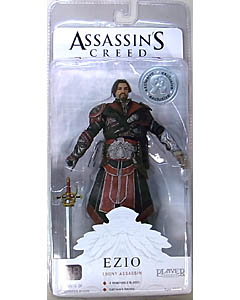 NECA PLAYER SELECT USA TOYSRUS限定 ASSASSIN'S CREED BROTHERHOOD EZIO [EBONY ASSASSIN] [UNHOODED]
