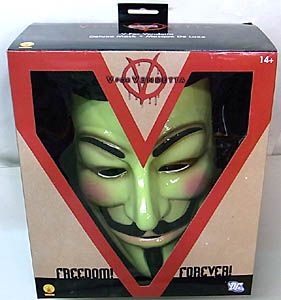 RUBIE'S製 V FOR VENDETTA V DELUXE MASK