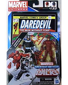 HASBRO MARVEL UNIVERSE COMIC PACKS DAREDEVIL DAREDEVIL & BULLSEYE