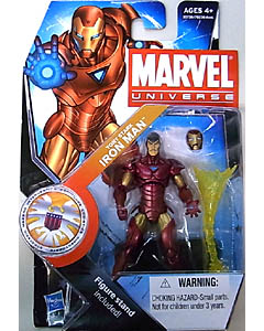 HASBRO MARVEL UNIVERSE SERIES 3 #022 TONY STARK IRON MAN [TONY STARK NAMEPLATE]