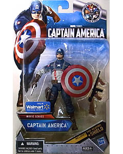 HASBRO 映画版 CAPTAIN AMERICA: THE FIRST AVENGER USA WALMART限定 6インチ MOVIE SERIES CAPTAIN AMERICA