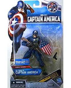 HASBRO 映画版 CAPTAIN AMERICA: THE FIRST AVENGER USA WALMART限定 6インチ COMIC SERIES ULTIMATE CAPTAIN AMERICA