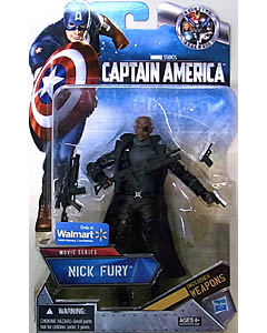 HASBRO 映画版 CAPTAIN AMERICA: THE FIRST AVENGER USA WALMART限定 6インチ MOVIE SERIES NICK FURY