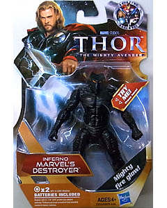 HASBRO 映画版 THOR 3.75インチ INFERNO MARVEL'S DESTROYER