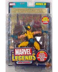 TOYBIZ MARVEL LEGENDS 3 WOLVERINE ゴールドカード