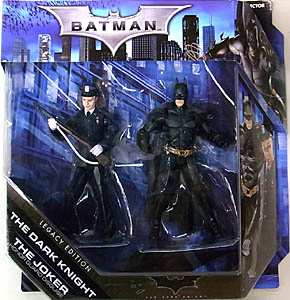 MATTEL BATMAN LEGACY 2PACK SERIES 2 BATMAN THE DARK KNIGHT THE DARK KNIGHT & JOKER HONOR GUARD DISGUISE 台紙傷み特価