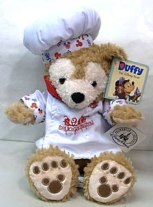 DISNEY USAディズニーテーマパーク限定 DUFFY THE DISNEY BEAR 12INCH 2011 CHEF DUFFY THE DISNEY BEAR