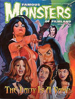 FAMOUS MONSTERS OF FILMLAND #258