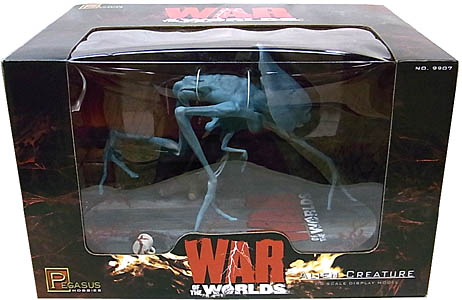 PEGASUS HOBBIES 1/8スケール THE WAR OF THE WORLDS [2005] ALIEN CREATURE 塗装、組み立て済み完成品