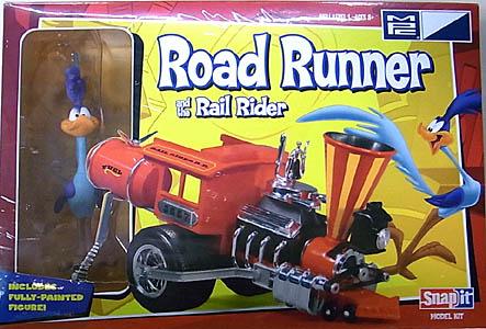 MPC ノンスケール ROAD RUNNER & THE RAIL RIDER 組み立て式プラモデル パッケージ傷み特価