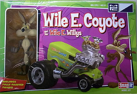 MPC ノンスケール WILE E. COYOTE & THE WILE E. WILLYS 組み立て式プラモデル
