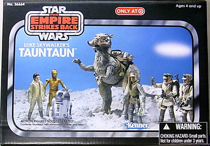 HASBRO STAR WARS USA TARGET限定 2011 THE VINTAGE COLLECTION LUKE SKYWALKER'S TAUNTAUN [THE EMPIRE STRIKES BACK] BOX傷み特価