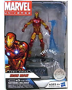 HASBRO MARVEL UNIVERSE USA TOYSRUS限定 LIGHT UP BASE SERIES 1 IRON MAN